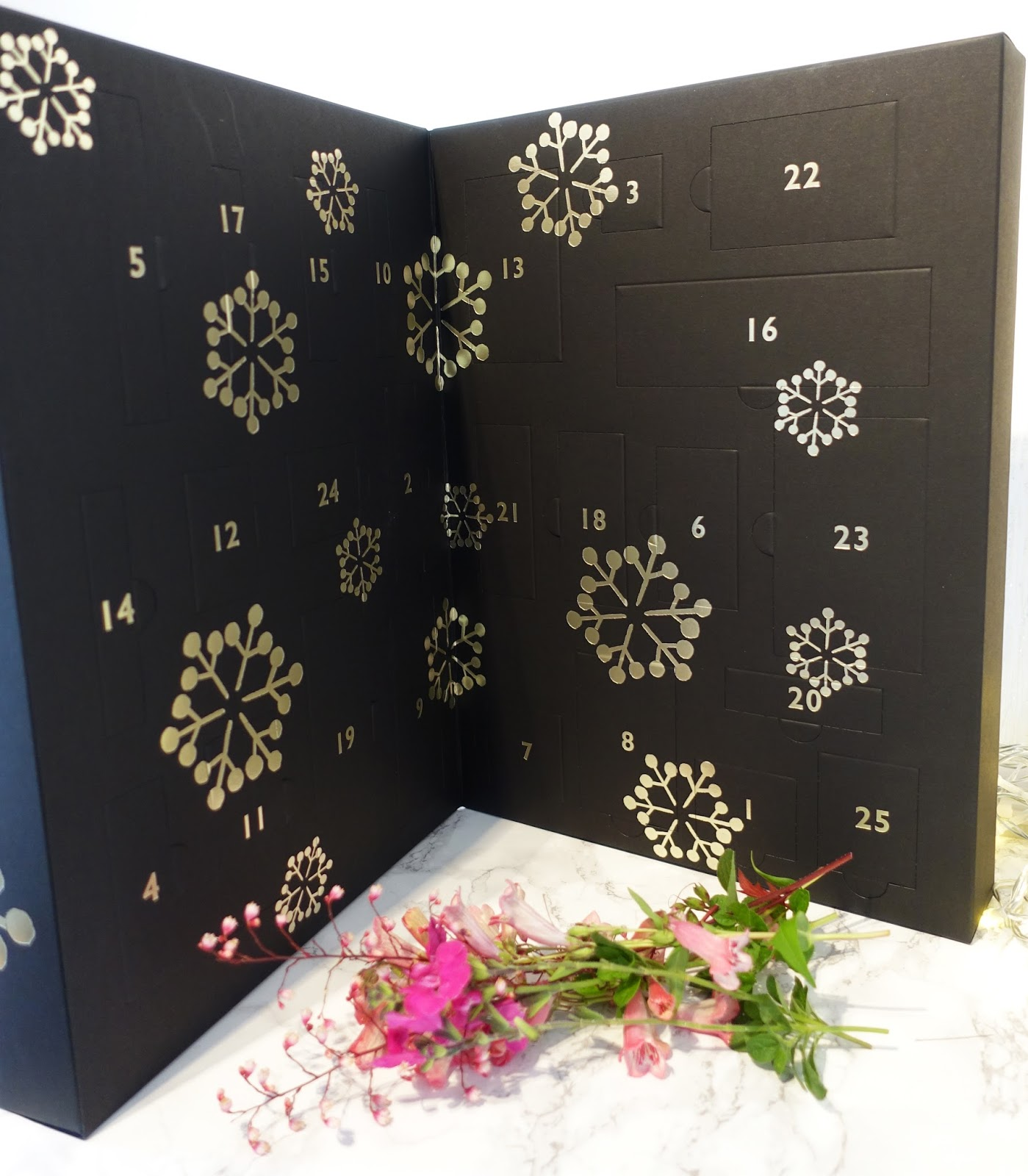 Image showing the John Lewis Beauty Advent Calendar 2017 as featured by Is This Mutton blog for the over 40s