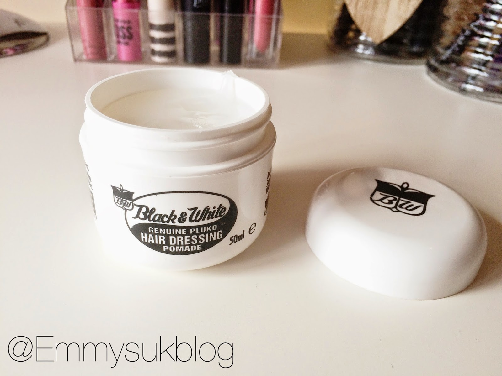 Black and White Hair Pomade Review
