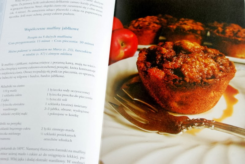 Współczesne muffiny jabłkowe inspirowane sagą