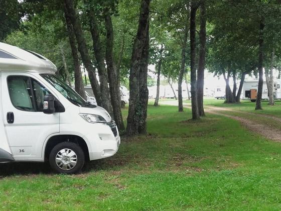 Área de autocaravanas de Gastes (Las Landas) caravaneros.com