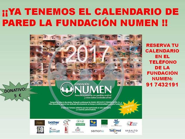Calendario Fundacion Numen - Mama de Noa