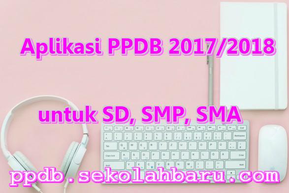 Aplikasi PPDB 2017/2018