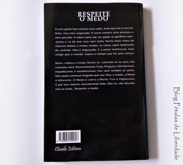 contracapa, sinopse, livro, respeite-o-medo, ana-cristina-soares, chiado-editora, contos, medo, sorteio, blog