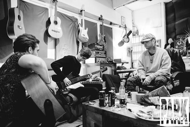 The Carnival Club EP | Birmingham Recording Studio | Park Studios JQ | guitars