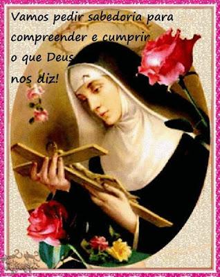 Orando Com Santa Rita De Cássia Advogada Dos Impossíveis