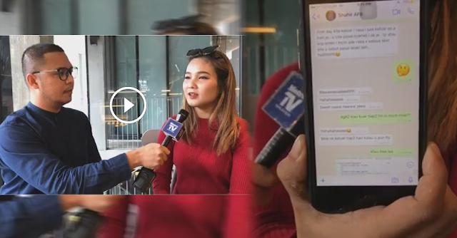VIDEO: 'Kami Pernah ….. Dari Malam Sampai Pagi !' Mona DEDAH Mesej Berunsur 'DEWASA' Dia Dengan Shahir