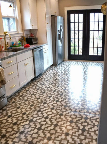 It Was A Pretty Good Roximation Of The Type Moroccan Looking Cement Encaustic Tile That I Am So In Love With At Moment