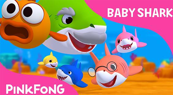 Lirik Lagu Baby Shark dan Artinya - Pinkfong