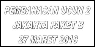 pembahasan paket B Jakarta