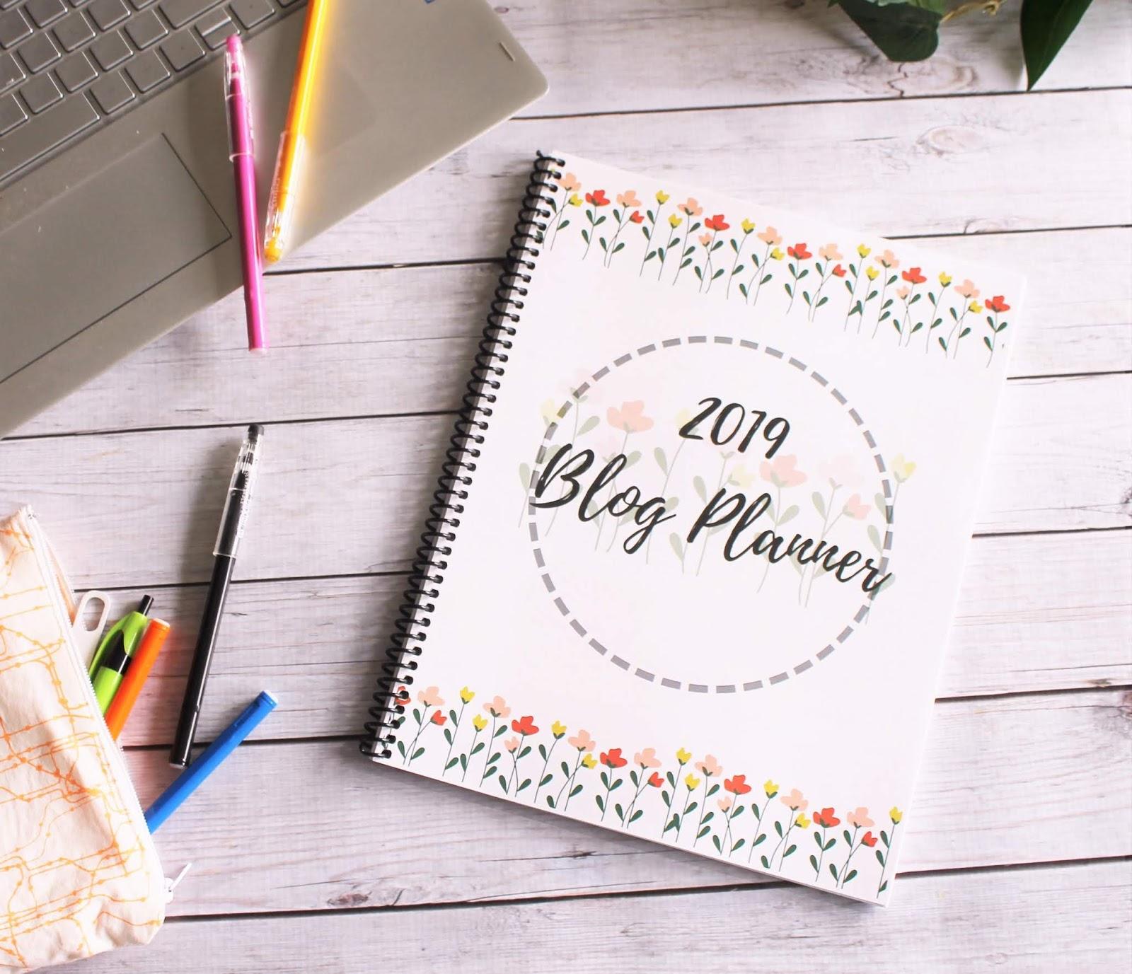 picture regarding Blog Planner Template identify 2019 Site Planner Sew Basic Residence