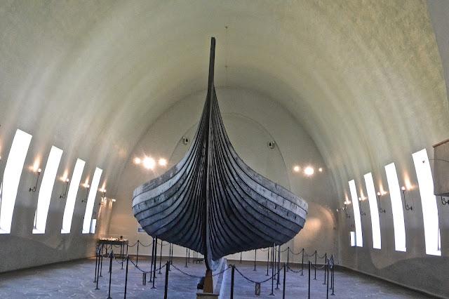 Oslo Le musée des bateaux vikings : Vikingskipshuset