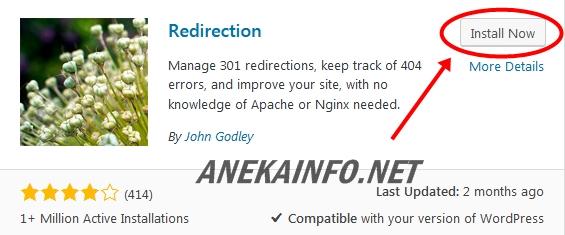Tutorial Cara Redirect Url Wordpress Dengan Plugin   Aneka Info