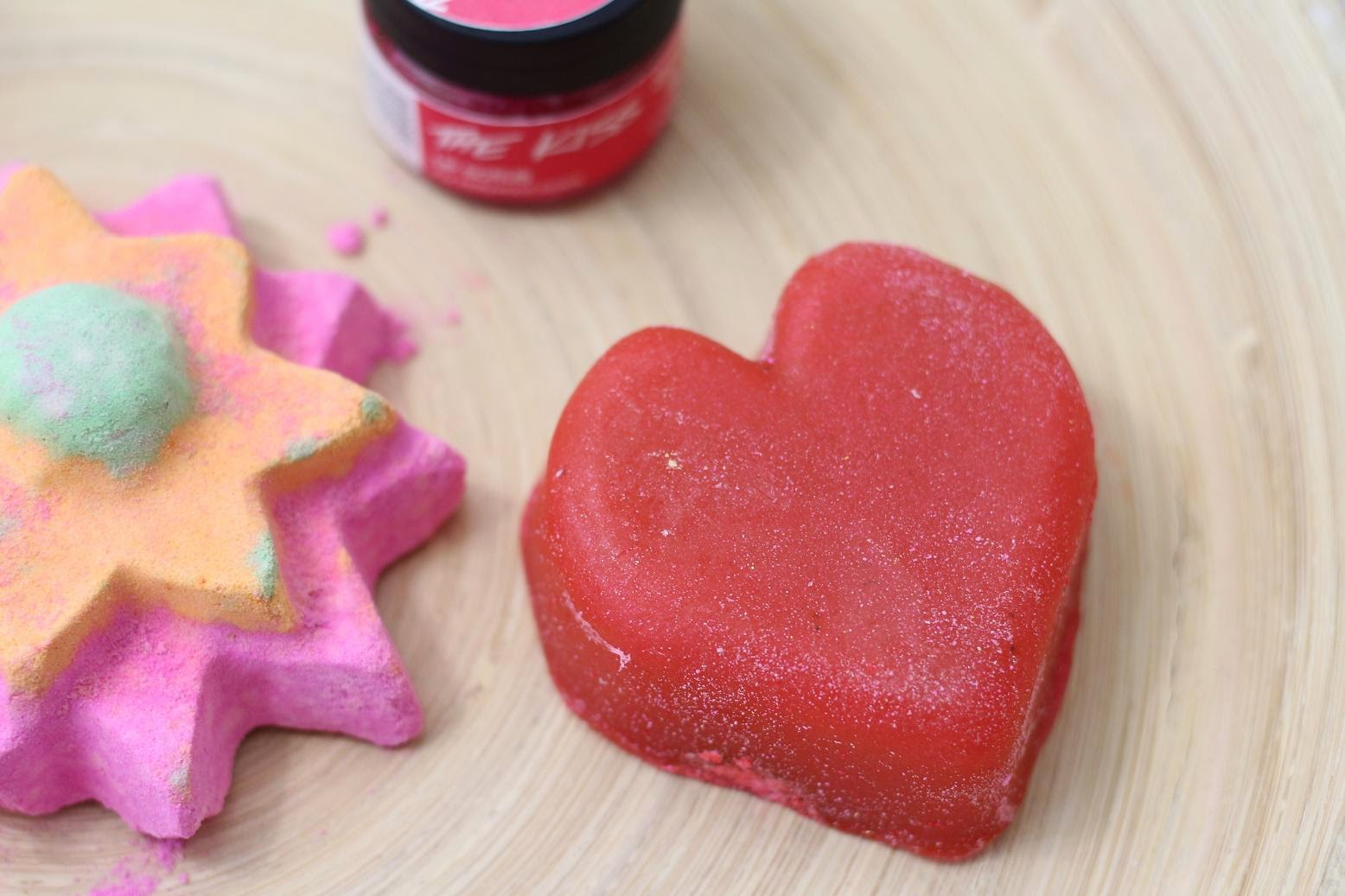Lush Cupid's Love soap