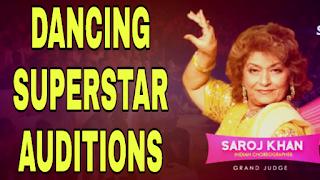 Dancing Superstar Auditions Date, Venue & Registration 2019