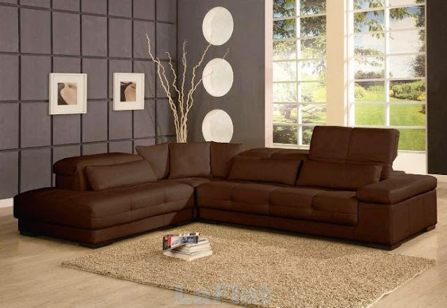 wall colors for living room with brown couch