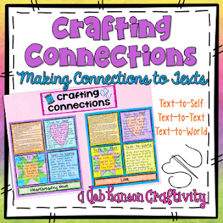 Text Connections Craftivity!