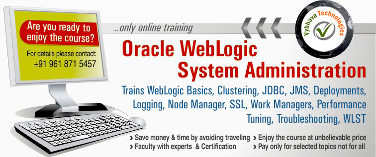 Oracle WebLogic Administration Course