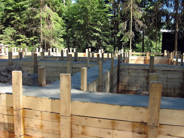 строительство дома фундамент