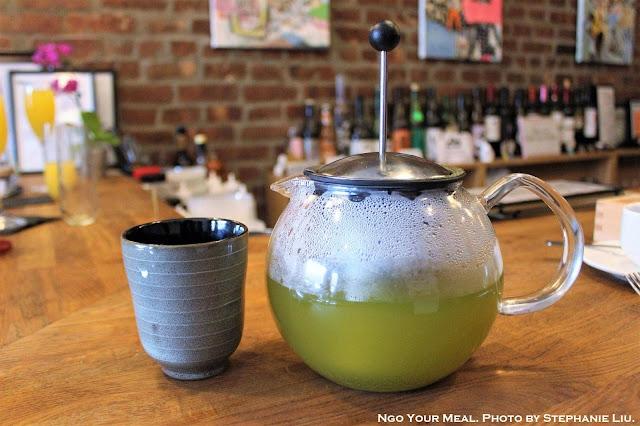 Japanese Gyokuro Green Tea at Rabbit House in New York City