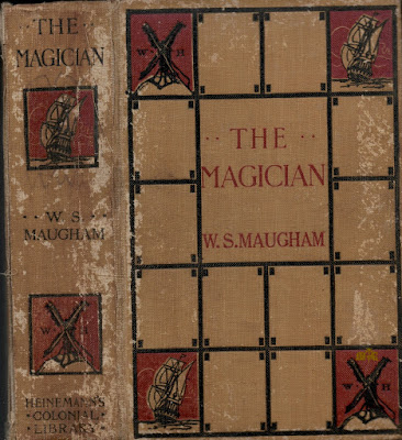 The Magician (1908) colonial edition - WS Maugham