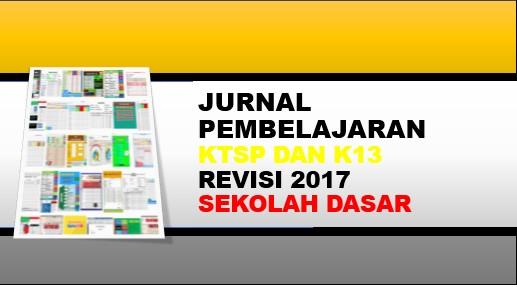 Jurnal pembelajaran K13 SD Kelas 1, 2, 4, 5