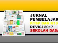 Jurnal pembelajaran K13 SD Kelas 1, 2, 4, 5 Lengkap