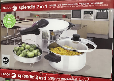 Simply the most efficient way to cook, reduces cooking time by up to 70%