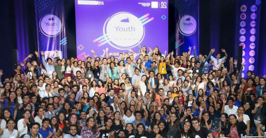 USIL: Jóvenes de diez regiones del país debatieron sobre los avances de los Objetivos de Desarrollo Sostenible en Youth Speak Forum - www.usil.edu.pe