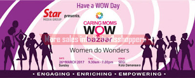 Check out the Caring Moms WoW Bazaar starting at 9.30am