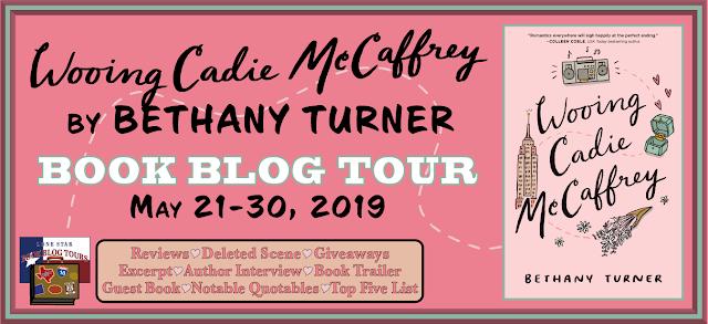 Wooing Cadie McCaffrey book blog tour promotion banner
