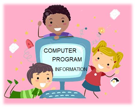 कंप्यूटर प्रोग्राम के बारे  में जानकारी
