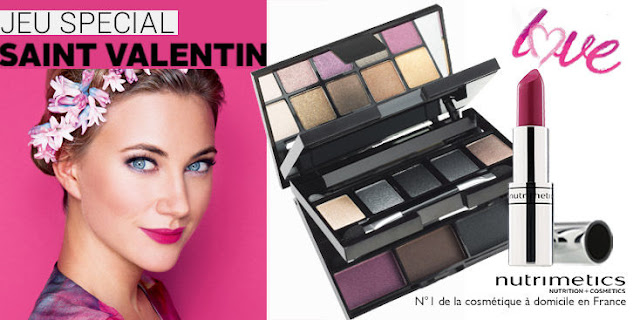 Jeu Concours 33 coffrets maquillage « Nutrimetics » à gagner !