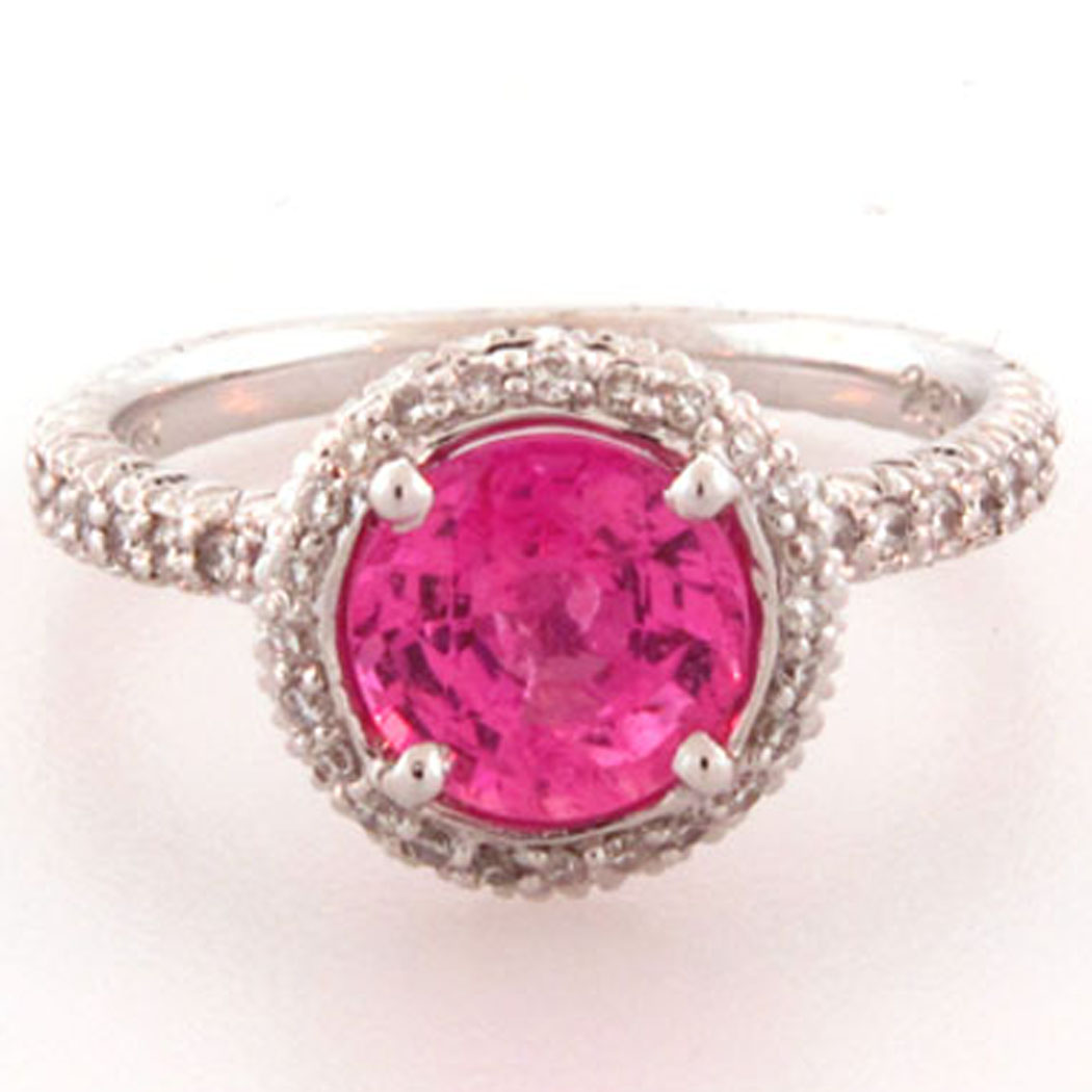 pinky pearl unique pink diamond rings