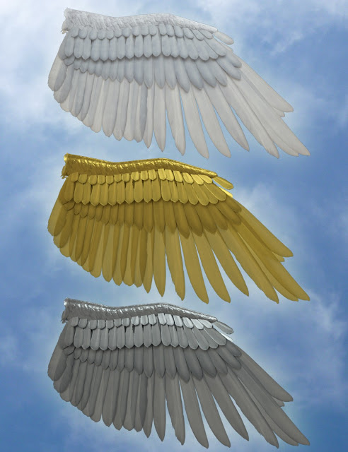 Seraphim Wings for Genesis 8 Female