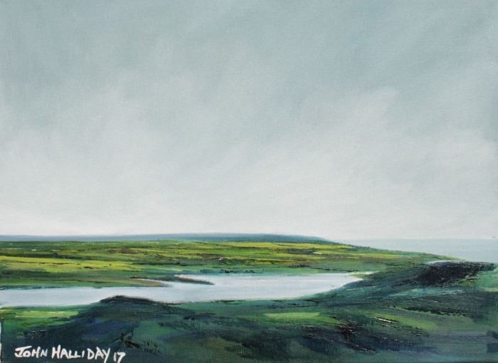 Британский художник. John Halliday 19