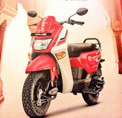 Honda Cliq Patriot Red image