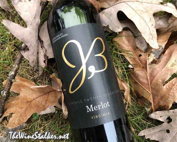 Justin Bogaty Winemaker Selection Merlot 2017