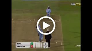 India vs Pakistan bowl out match