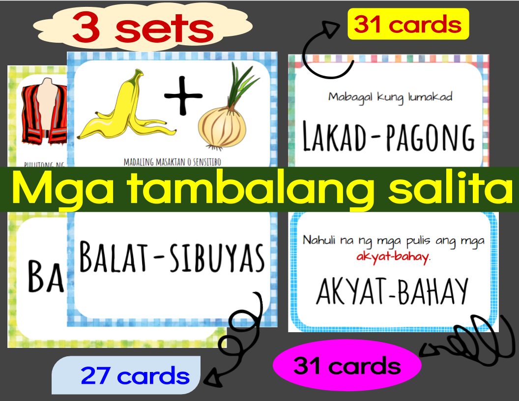 Worksheet On Kayarian Ng Salita