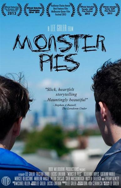 Tarta de Monstruos - Monster Pies - PELICULA - Australia - 2013