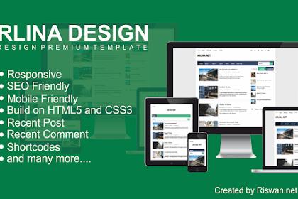 Template Arlina Design Redesign Premium