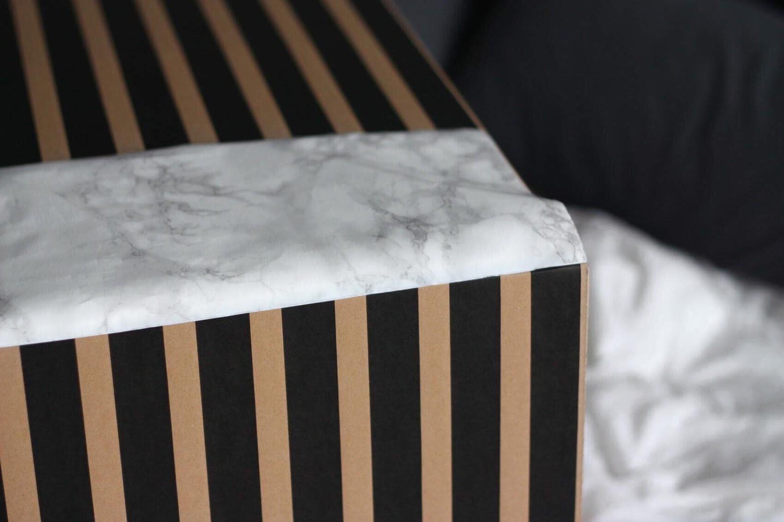 marmurowe pudełko diy, marmur diy, pojemnik marmurowy