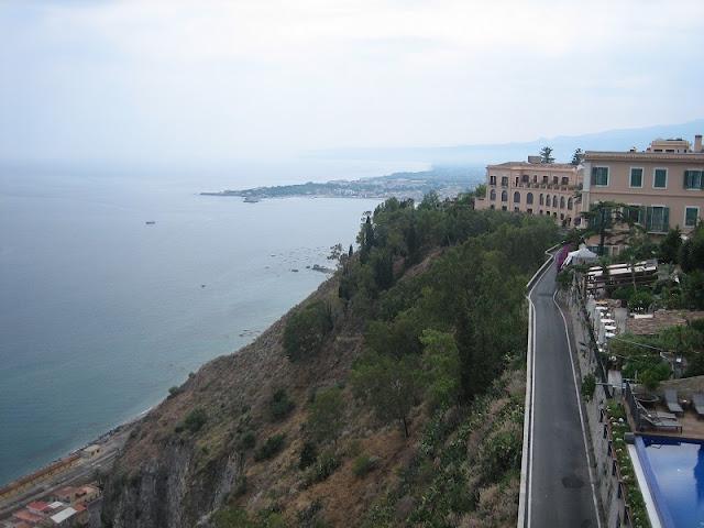 Taormina - Bahía de Naxos