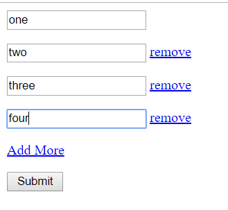 Jquery Duplicate Fields Form Submit with PHP