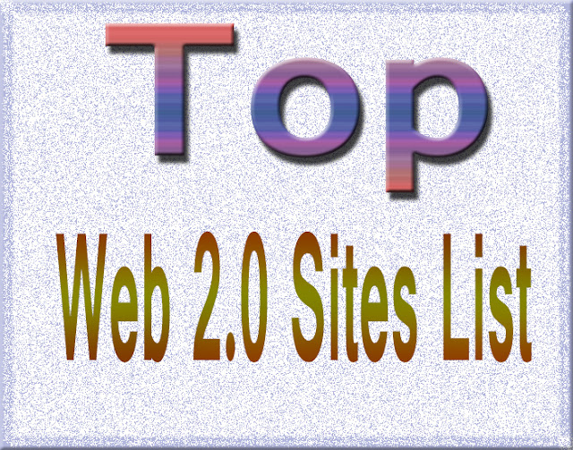 web 2.0 submission site list 2017