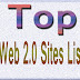 Top 85 Web 2.0 Submission Sites List 2017