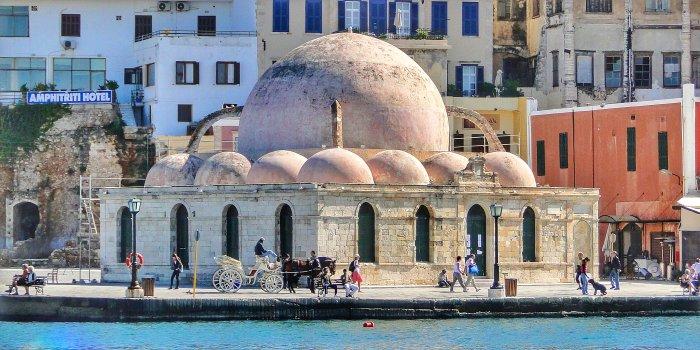 La Moschea dei Giannizzeri a Chania, Creta