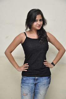 Actress Pavithra Latest Pictures in Reppied Jeans 0014