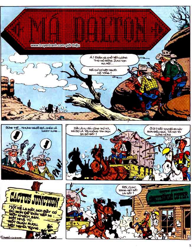 Lucky Luke tap 15 - ma dalton trang 4