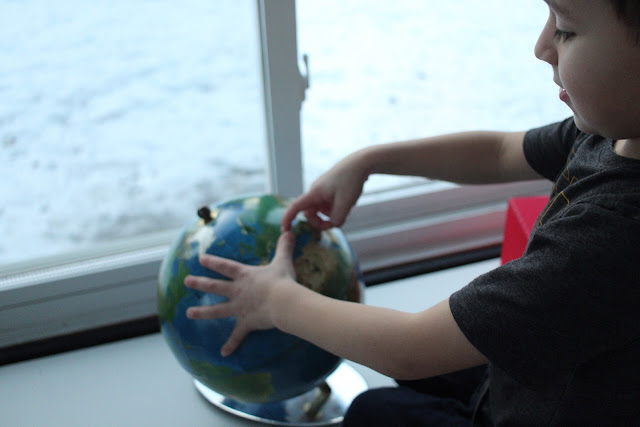 Montessori child favorites at 5-years-old